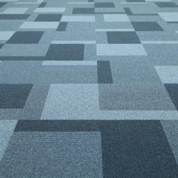 Jhs Carpet Tile Collection Triumph Random Tile Blue