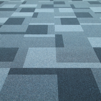 Jhs Carpet Tile Collection Triumph Random Tile Blue