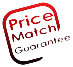 full price match guarantee On any of our products found cheaper online